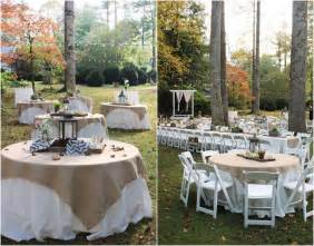 burlap wedding ideas outdoor rustic wedding burlap trendy mods