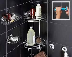 accessoires de salle de bains par ventouse ultra With porte de douche coulissante avec ventouse murale salle bains