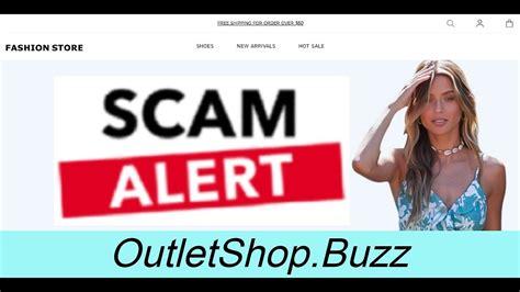 Scam Alert! OUTLETSHOP.BUZZ   OUTLETSHOP.BUZZ Review - YouTube