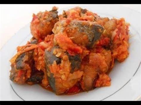 memasak ikan tongkol sambal padang youtube
