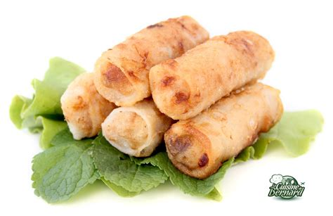 soja cuisine recettes la cuisine de bernard nems impériaux