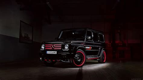 We have a massive amount of desktop and mobile backgrounds. HD wallpaper: black Mercedes-Benz G-Class SUV, G 55 AMG ...