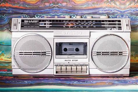 Boombox! Genuine 80s Sharp Ghettoblaster