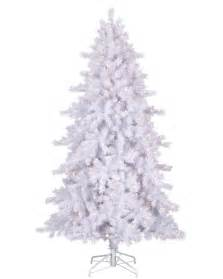 moonlight white tinsel artificial christmas tree treetopia