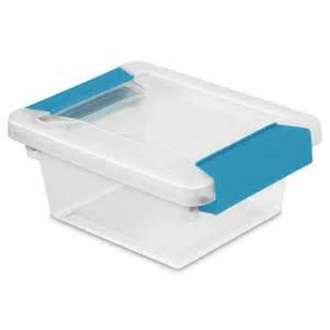 sterilite mini clip box set of 6 1969 clip boxes with latches