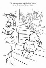 Coloring Pages Brave Brother Bears Disney Template Bestcoloringpagesforkids sketch template