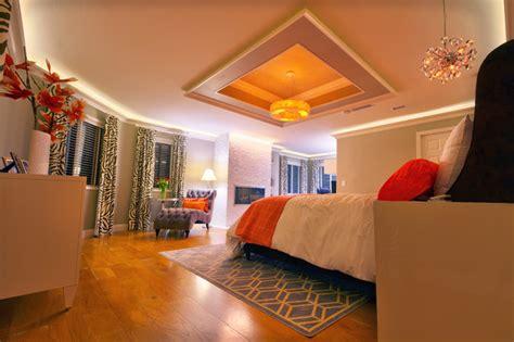 master bedroom cove ceiling design contemporary