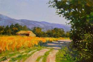 French Countryside Impressionist Landscape Paintings