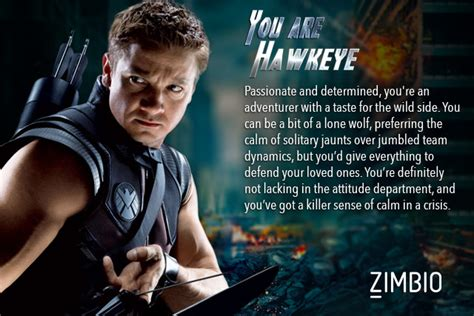 Which 'avengers' Character Are You?