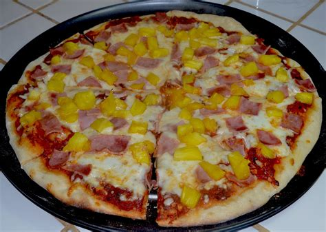 Receta de pizza hawaiana - YouTube