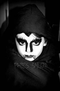 Halloween kids vampire face paint   Makeup / Hair ...