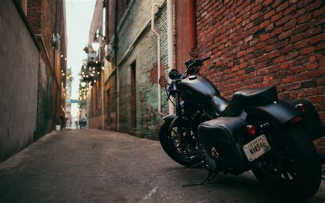 Motorcycle Side View Hd Wallpaper