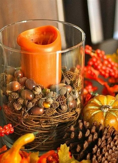 simple  easy thanksgiving centerpiece ideas