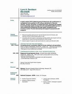 new graduate nurse resume rn sample writing resume With rn resumes for new graduates