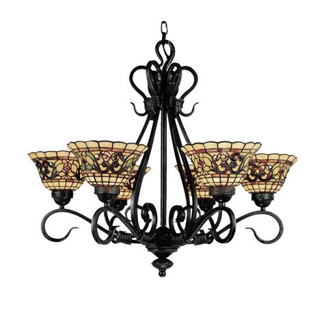 Vintage Style Chandelier by Shop Westmore Lighting Augustine 28 In 6 Light
