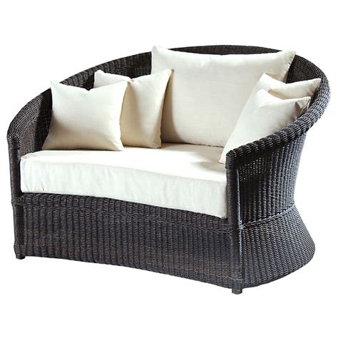 lounge chair and ottoman set outdoor haven wicker lounge chair and ottoman set dcg stores
