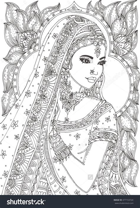 beautiful coloring pages 143 best images about coloring pages to print india on