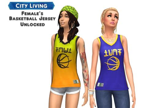city living females basketball jersey unlocked