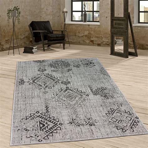 outdoor teppich günstig in outdoor teppich rautenmuster grau teppich de