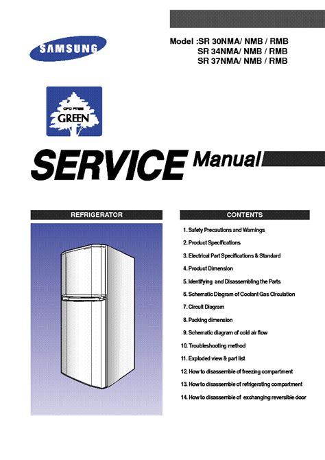 samsung sr 30 34 37nma nmb rmb service manual schematics eeprom repair info for