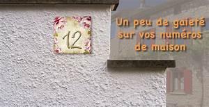 Plaque Numero Maison : plaque num ro maison personnalis e visublim ~ Teatrodelosmanantiales.com Idées de Décoration