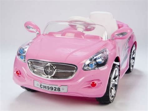 Kids Amg Style Girls Pink Ride On Rc Car Remote Control