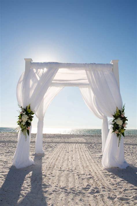 romantic destination wedding  marco island beach