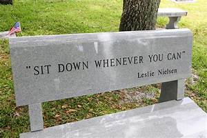 Leslie Nielsen in Leslie Nielsen's Grave Marker 7 of 15 ...