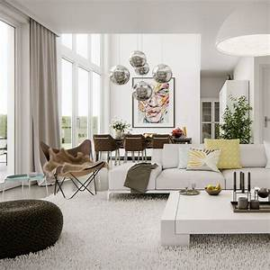 Deco Design Salon : d co salon tendance 26 belles propositions ~ Farleysfitness.com Idées de Décoration