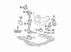 Chevrolet Malibu Mount  Brace  Transmission  Bracket