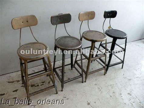 chaise de bar vintage vintage metal bar stools fernandotrujillo com inside ideas