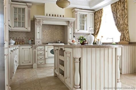 images  antique white kitchens  pinterest