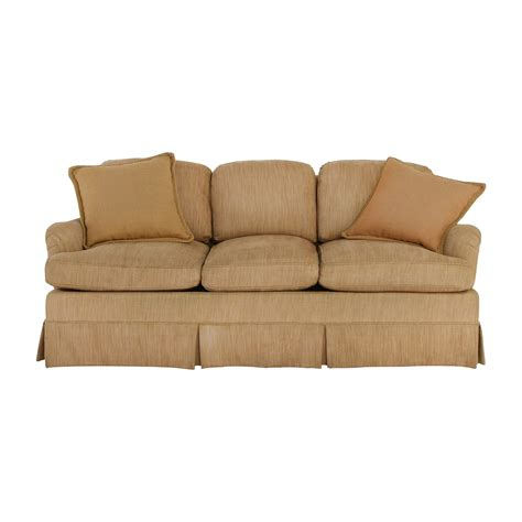 Tan Sofas 2 Pcs Transitional Style Tan Sofa Set Sm8110