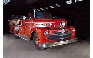 Vente Aux Encheres Vehicules : des anciens v hicules de pompiers mis en vente aux ench res seagrave moteur v12 american ~ Maxctalentgroup.com Avis de Voitures