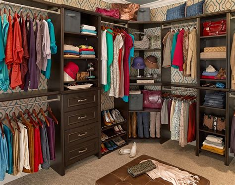 Closet Organizer Systems Canada by Impressions Collection In Chocolate Storage