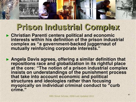 """Prison Industrial Complex (PIC) """"A Re-Constitution of Slavery"""""""