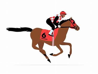 Gallop Horse Dribbble Animation Alina Copy Tweet