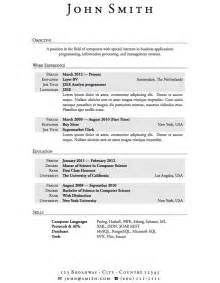 resume work experience format image resume sle for high students with no experience http jobresumesle com 176