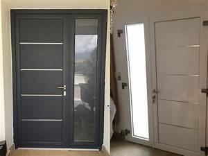 porte d39entree gieres isere tryba With porte de garage et porte d entrée interieur