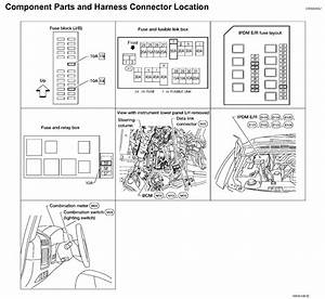 2015 Nissan Rogue Fuse Box Diagram  1998 Nissan Altima