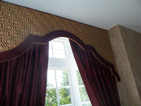 cornice designs banded upholstered cornice designs search