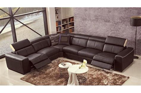 canape relax electrique italien canapé d 39 angle relax électrique en cuir de buffle