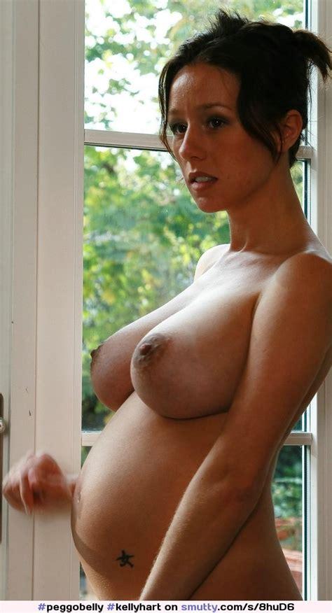 Kellyhart Sexy Topless Pregnant Mom Milf Preggotits