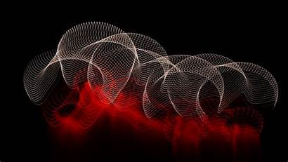 4k Abstract Dark Background Lines Spots Wallpapers