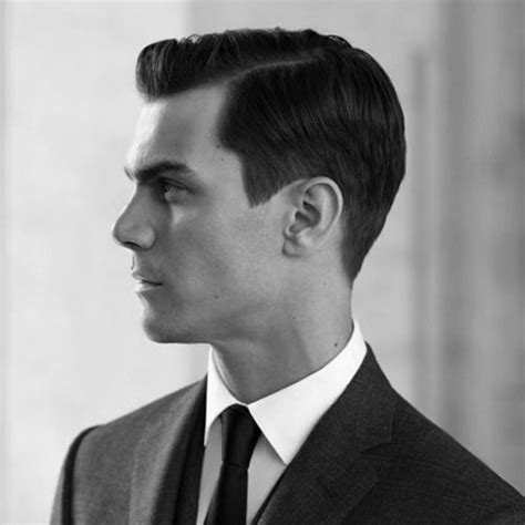 The Side Part Haircut   A Classic Gentleman's Hairstyle