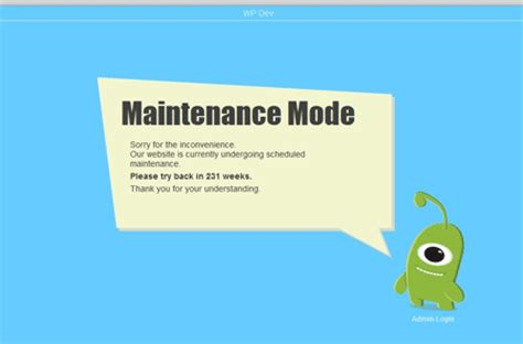 Best Wordpress Maintenance Plugins To Free Download Wpjuices