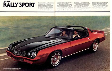 Gm 1978 Chevrolet Camaro Sales Brochure