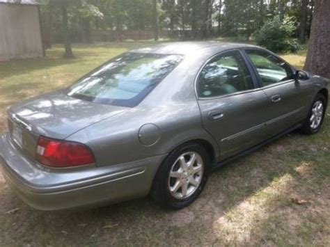 Sell Used 2003 Mercury Sable Gs Sedan 4-door 3.0l In