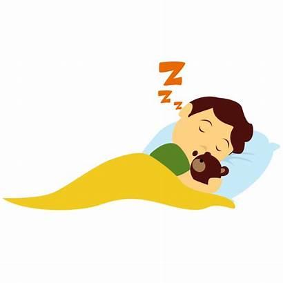 Clipart Sleep Sleeping Child Bedtime Transparent Background