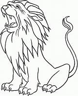 Coloring Lion Pages Lions Little Popular sketch template